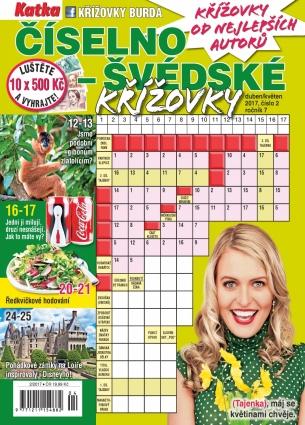 Katka Číselno-Švédské křížovky 2/2017