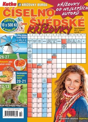Katka Číselno-Švédské křížovky 5/2017