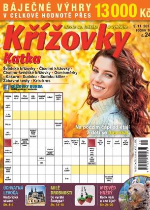 Katka Křížovky 24/2017