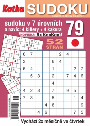 Katka Sudoku 7/2017