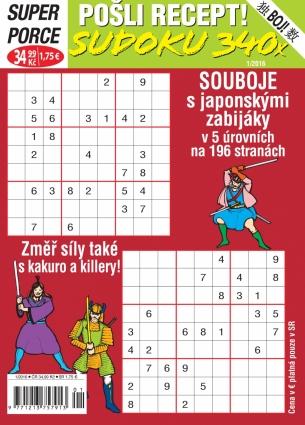 Pošli recept Superporce Sudoku 1/2016