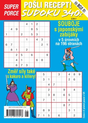 Pošli recept Superporce Sudoku 3/2017