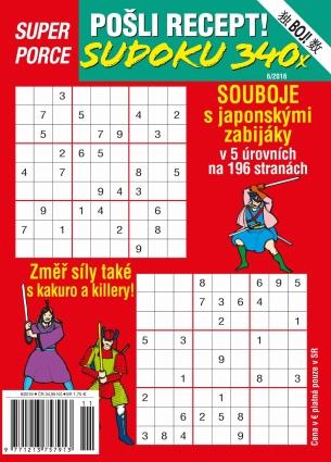 Pošli recept Superporce Číselné křížovky 4/2016