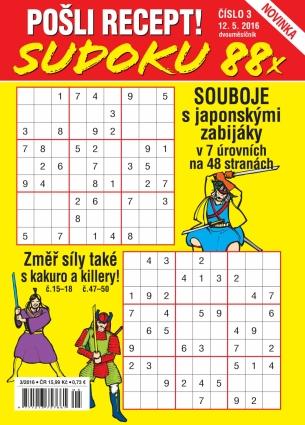 Pošli recept Sudoku 3/2016