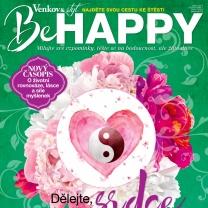 Burda vydává nový časopis BeHappy o životní rovnováze a cestě ke štěstí
