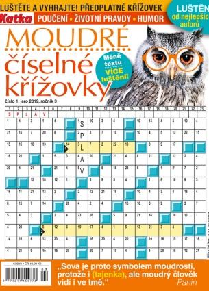 Katka Křížovky číselné moudré 1/2019