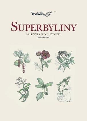 Marianne Venkov a styl speciál - Herbář - Superbyliny (kniha) 6/2017