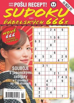 Pošli recept Superporce Sudoku 2/2021
