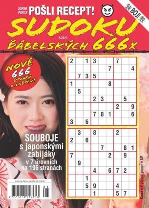 Pošli recept Superporce Sudoku 3/2021