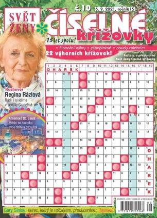 Svět ženy Číselné křížovky 10/2021