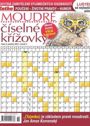 Katka Křížovky číselné moudré 3/2021