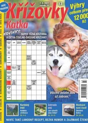 Katka Křížovky 13/2021