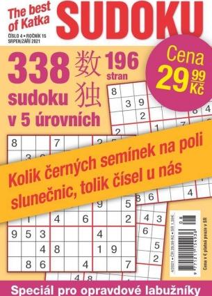Katka The Best Of Sudoku 4/2021