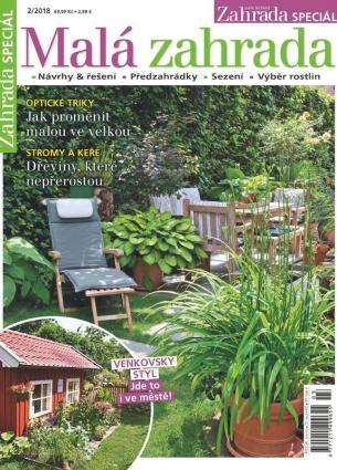 Naše krásná zahrada speciál 2/2018 - Malá zahrada