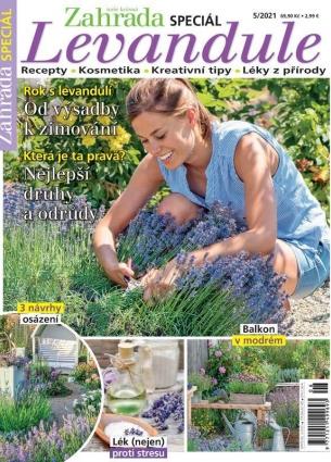 Naše krásná zahrada speciál 5/2021 - Levandule 5/2021