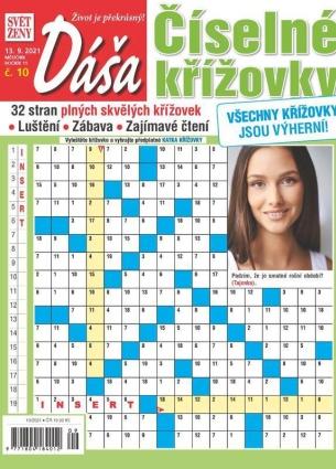 Dáša Číselné křížovky 10/2021