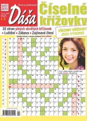 Dáša Číselné křížovky 5/2021