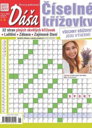 Dáša Číselné křížovky 6/2021