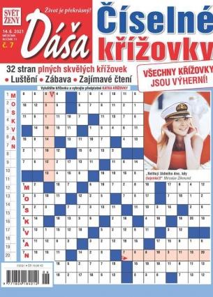 Dáša Číselné křížovky 7/2021