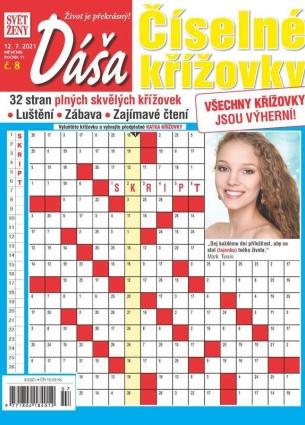 Dáša Číselné křížovky 8/2021