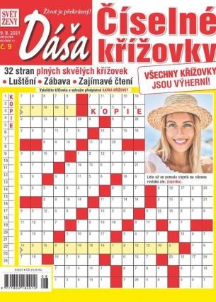Dáša Číselné křížovky 9/2021