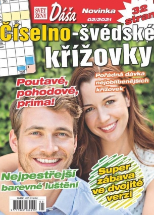 Dáša Číselno-Švédské křížovky 2/2021