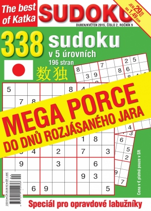 Katka The Best Of Sudoku 2/2015