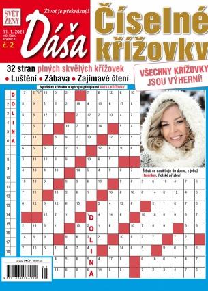 Dáša Číselné křížovky 2/2021