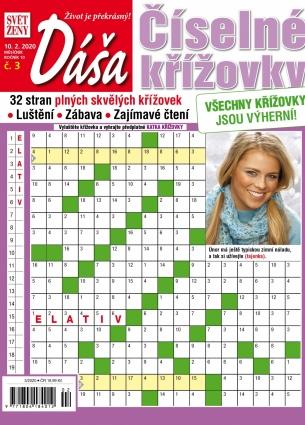 Dáša Číselné křížovky 3/2020