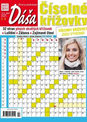 Dáša Číselné křížovky 3/2021