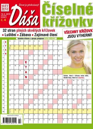 Dáša Číselné křížovky 4/2019