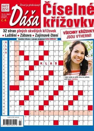 Dáša Číselné křížovky 4/2021