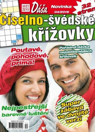 Dáša Číselno-Švédské křížovky 4/2019