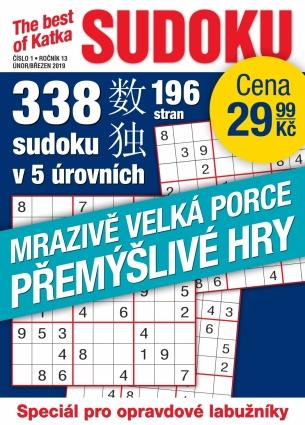 Katka The Best Of Sudoku 1/2019