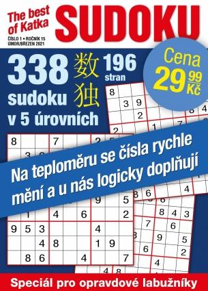 Katka The Best Of Sudoku 1/2021