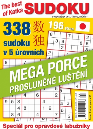 Katka The Best Of Sudoku 2/2017
