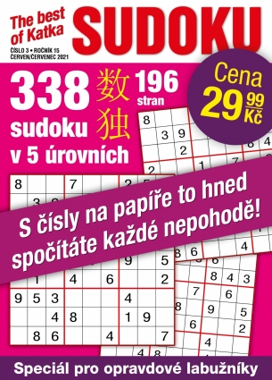 Katka The Best Of Sudoku 3/2021