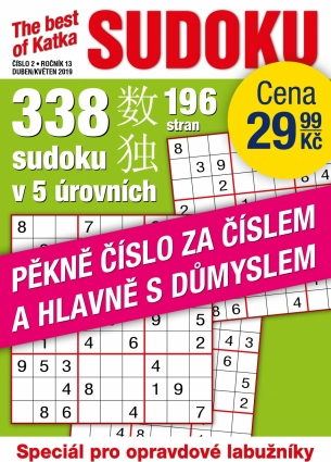 Katka The Best Of Sudoku 2/2019