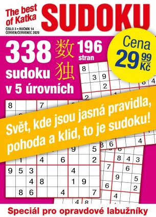 Katka The Best Of Sudoku 3/2020