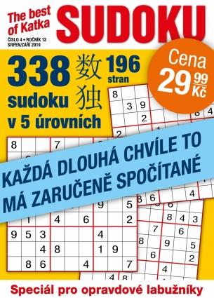 Katka The Best Of Sudoku 4/2019