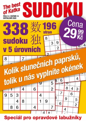 Katka The Best Of Sudoku 4/2020