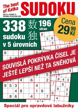 Katka The Best Of Sudoku 6/2019