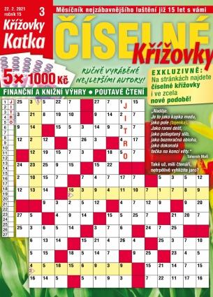 Katka Číselné křížovky 3/2021