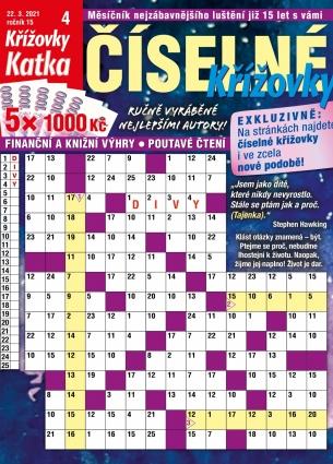 Katka Číselné křížovky 4/2021