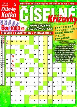 Katka Číselné křížovky 5/2021