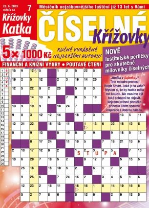 Katka Číselné křížovky 7/2019