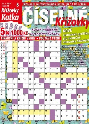 Katka Číselné křížovky 8/2019