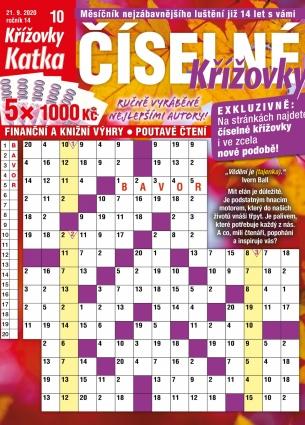 Katka Číselné křížovky 10/2020