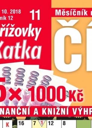 Katka Číselné křížovky 11/2018