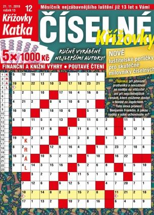 Katka Číselné křížovky 12/2019